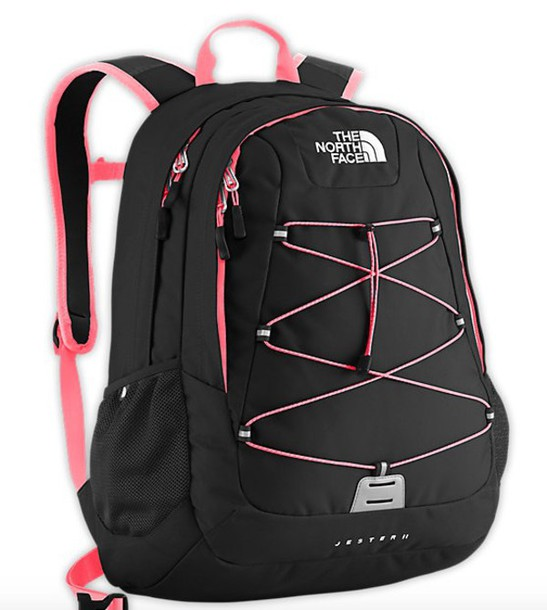 bag black north face back to school bookbag