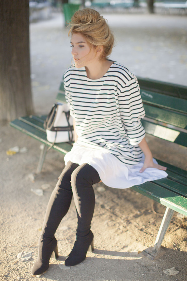 making magique blogger bag petit bateau stripes