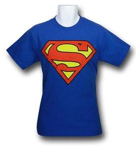 Superman royal blue t