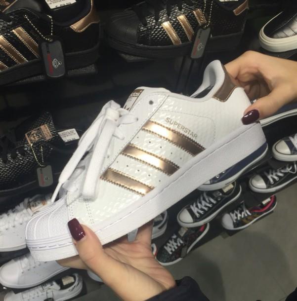 shoes adidas adidas superstars bronze adidas shoes. Black Bedroom Furniture Sets. Home Design Ideas