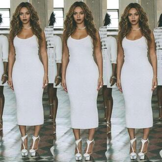 beyoncé dress white queen flawless white dress