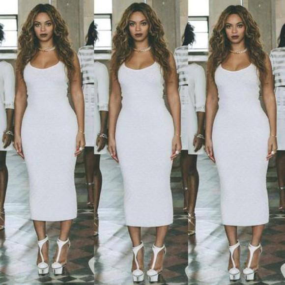 dress white dress beyoncé queen white flawless