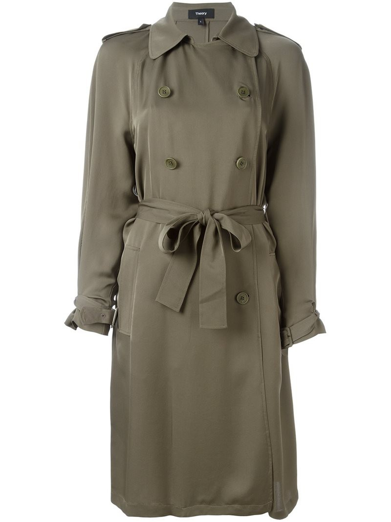 8f0e90df16d Theory Oaklane Double Faced Wool Coat - Palomino - Wheretoget