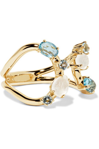 rock candy ring gold jewels