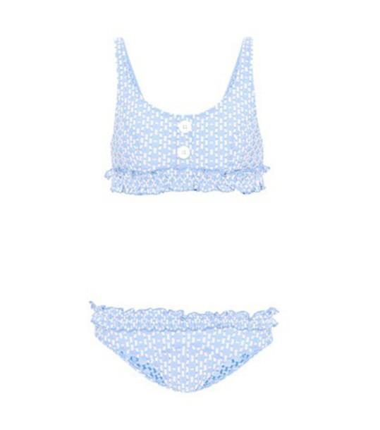 Lisa Marie Fernandez bikini blue swimwear