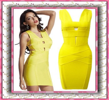 Aliexpress.com : Buy Wholesale Newest Bandage Dress Woman Sexy Patchwork Color Bikinis summer swimwear 2014 from Reliable bikini competition swimwear suppliers on Harve leger  store