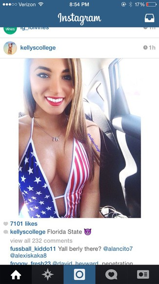 american flag america swimwear usa bikini