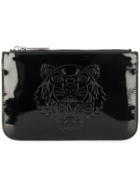 women tiger bag clutch leather