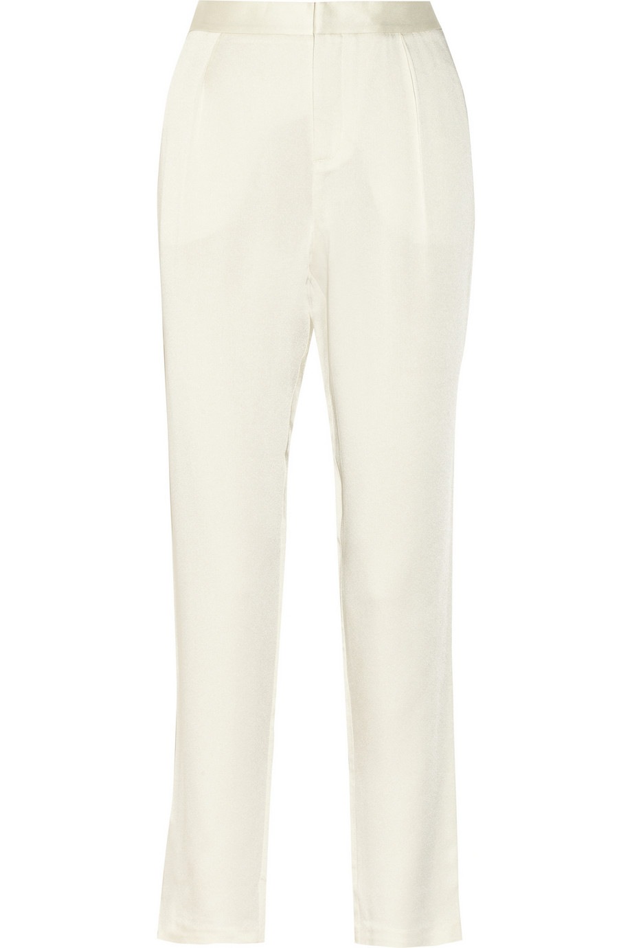 Tapered crepe-satin pants | T by Alexander Wang | THE OUTNET