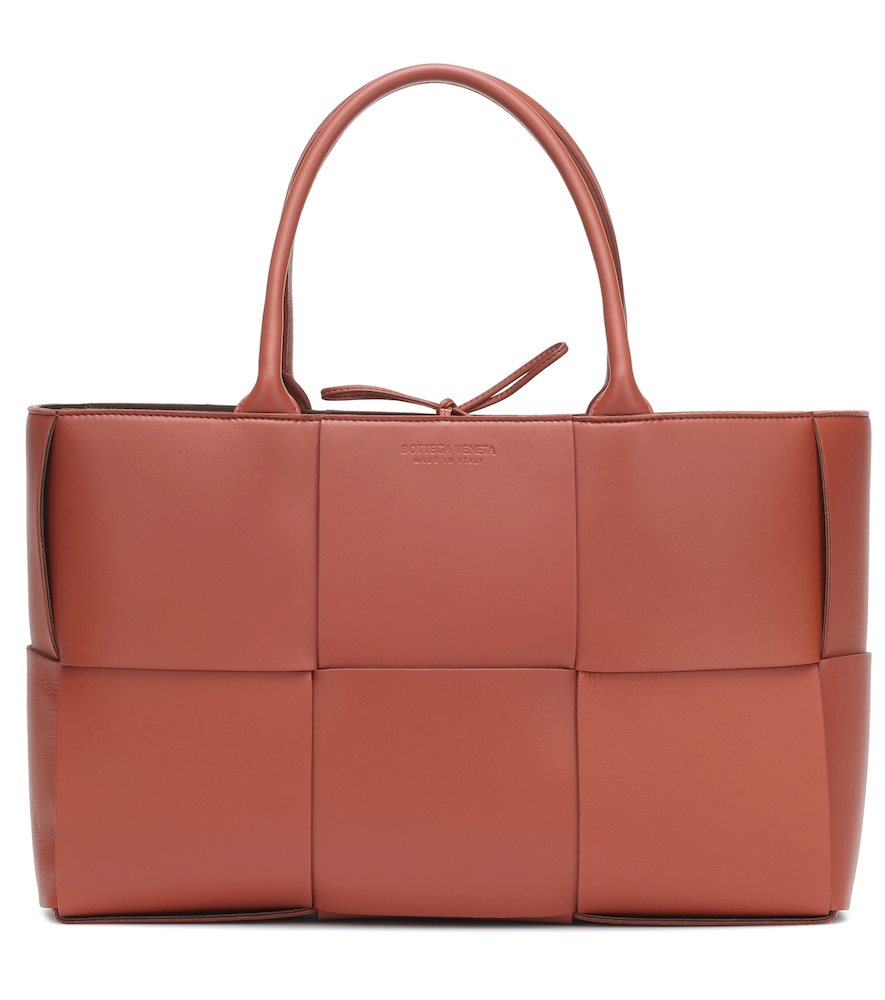 Cassette Medium leather tote