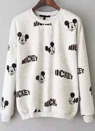 sweater mickey disney jumper