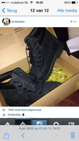 shoes timberlands black black timberlands boots dope