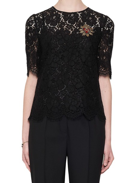 Dolce & Gabbana shirt black top