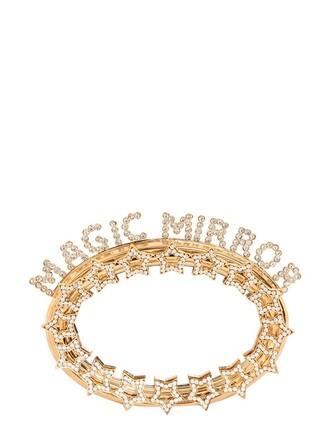 magic clutch stars gold bag