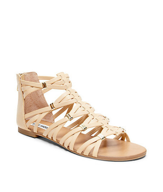 a4c8e019134 shoes crette nude sandals gladiators steven madden madden girl steven madden  gladiators
