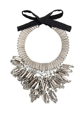 chunky necklace metallic women necklace jewels