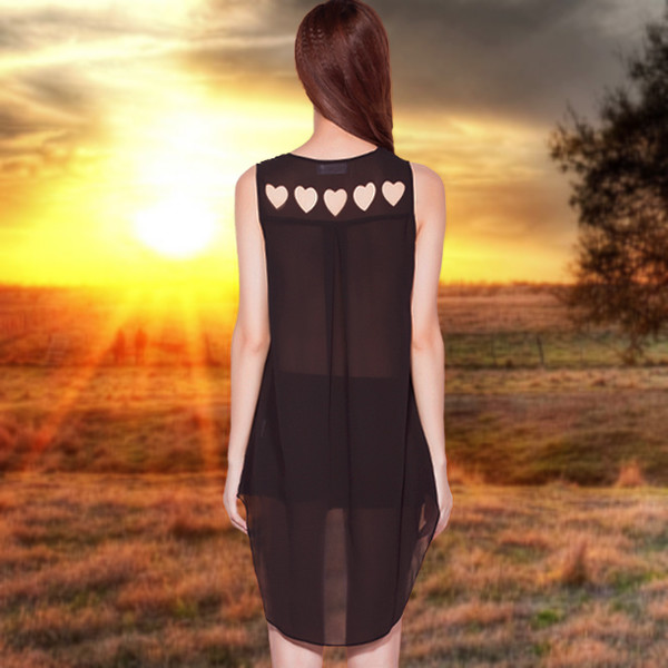 dress black classic pretty fashion style