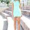 Sabo skirt  madonna dress - mint - $58.00 on wanelo