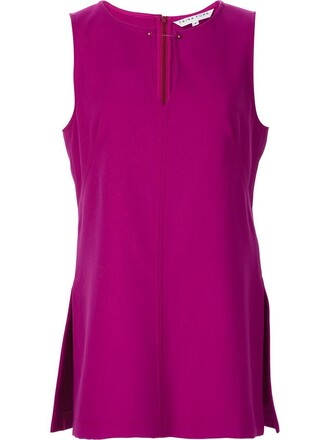 top women spandex purple pink
