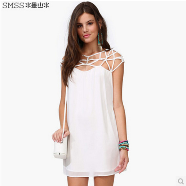 dress chiffon dress cable knit dress