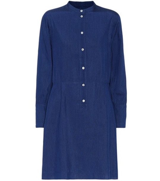 A.P.C. Kimya dress in blue