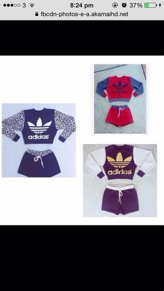 shorts adidas addidas tracksuit jumper set jacket