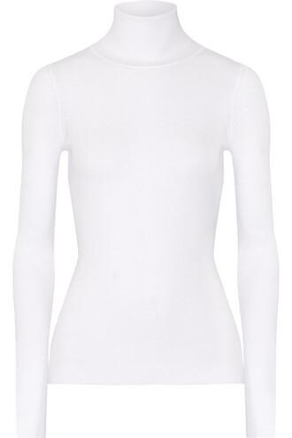 top knit white