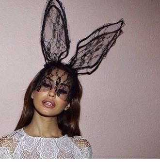 hat bunny ears bunny ears hat mask