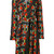 Area Di Barbara Bologna - floral pattern trench coat - women - Cotton - 42, Black, Cotton