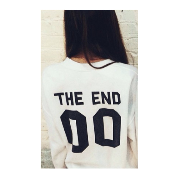 Erica The End 00 Sweater - Polyvore