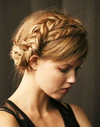 braid model hair/makeup inspo hairstyles wedding hairstyles hair accessory