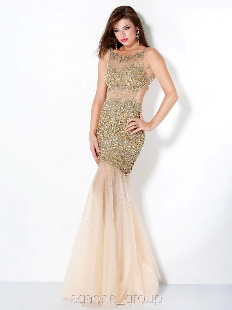 JOVANI Evening Dress 171100 Lowest Price GUARANTEE 0 2 4 6 8 10 12 14 Gold | eBay
