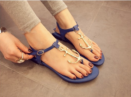 Anchor sandals · candlelight · online store powered by storenvy