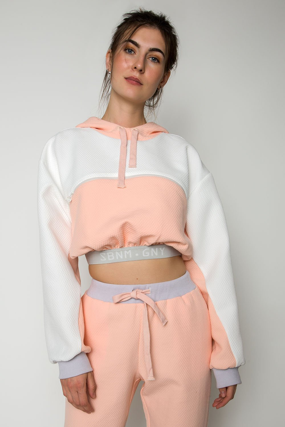 ''Take me to the candy shop'' cropped hoodie