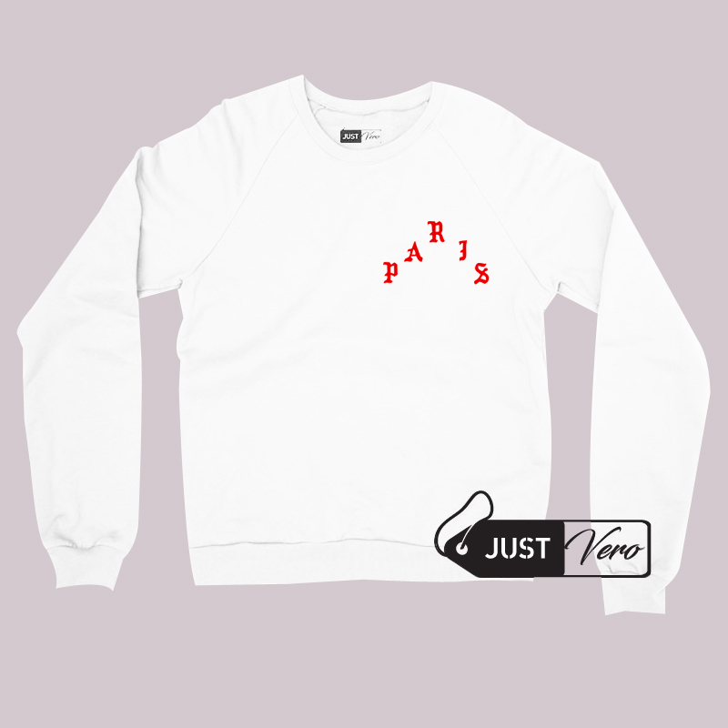Pablo Paris Sweatshirt Unisex size S,M,L,XL,2XL and 3XL