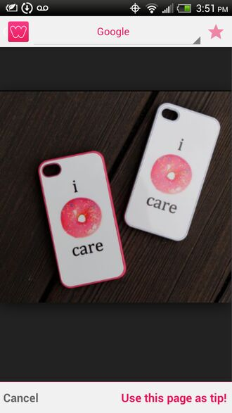 tumblr outfit donut phone case i dont care t-shirt quote on it matching couples bff food