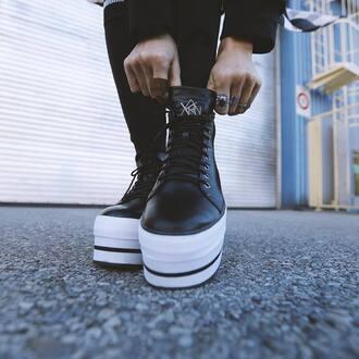 shoes zooji platform sneakers sneakers platform shoes footwear y-r-u y-r-u shoes edgy fashion fashionista style streetstyle yru