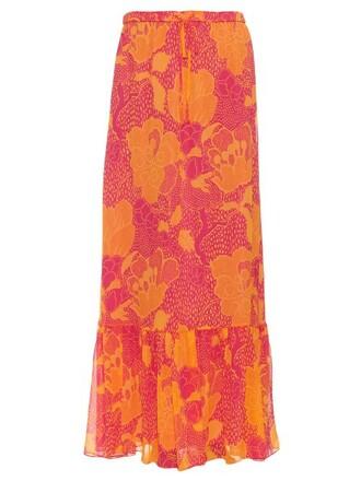 skirt print pink