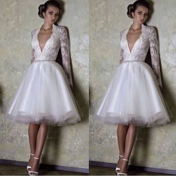 wedding clothes wedding dress short short dress short wedding dress court house court house wedding court house wedding dress white dress all white white wedding dress style all white everything white wedding dresses