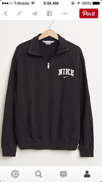 jacket nike pullover shirt nike sweater sweater black nike half zip half zip up nke nike windbreaker nike jacket sweatshirt vintage pullover nike zipper jacket black sweater zip long sleeves