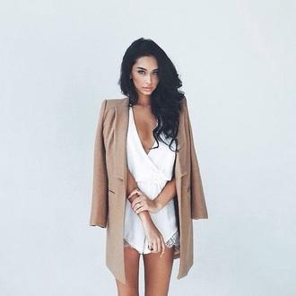 coat brown beauty godess
