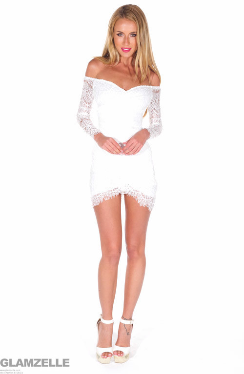 """""""the sweetest thing"""" laces bodycon dress – glamzelle"""
