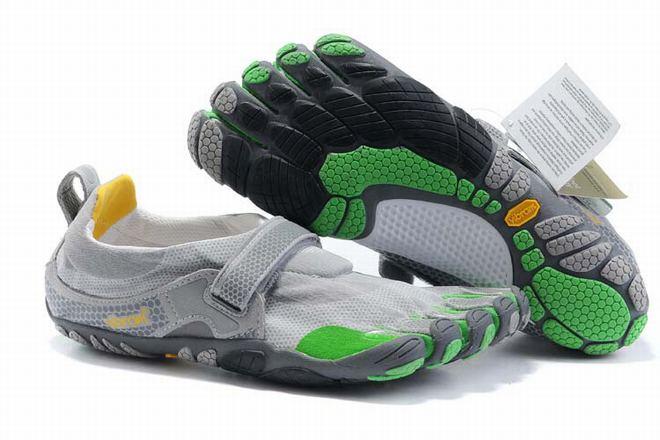 five fingers bikila dark green grey sneaker for men