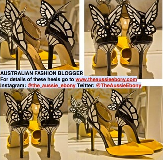 heels butterfly pumps shoes