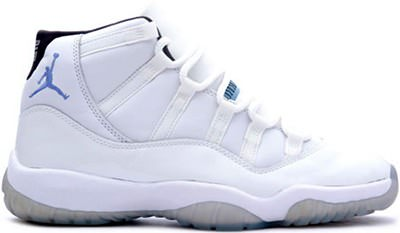 Air Jordan White/Columbia-Black - NiceKicks.com