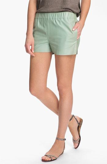J Brand Ready-to-Wear 'Lynn' Leather Shorts