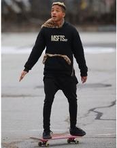 sweater,jaden smith,msfts,rep,red,leopard print,cheetah is the new black,hoodie,fur,zip,inspire,menswear