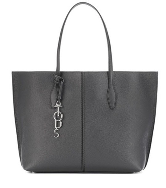 TOD'S leather black bag