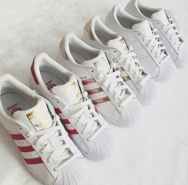 adidas Originals SUPERSTAR Sneakers basse whitesilver