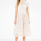 Occasionwear | cream lace shirt dress | warehouse